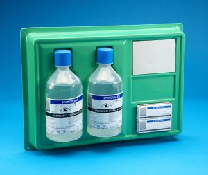 Eye/Wound Wash Station Wall Plate Complete 500ml