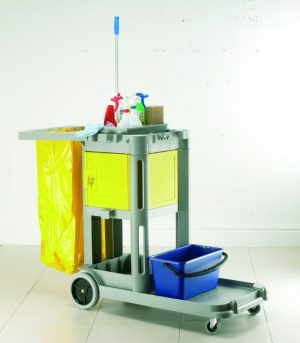 Structocart 'Carry All' Mobile Cleaners Trolley