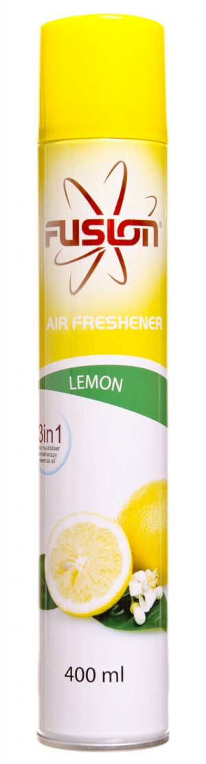 Fusion Lemon Air Freshener 12 x 400ml
