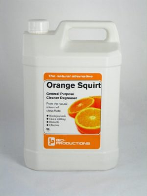 Orange Squirt Orange Based Cleaner Degreaser 5 ltr