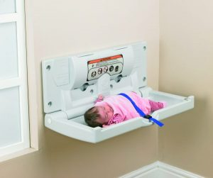 Baby Changer Horizontal White