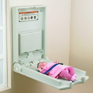 Baby Changer Vertical White