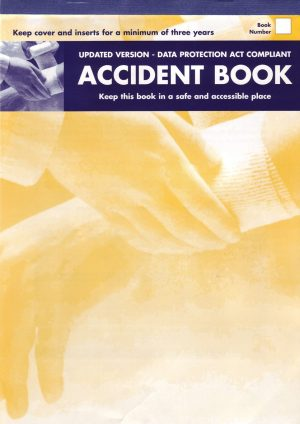 Accident Book – Date protection compliant A4