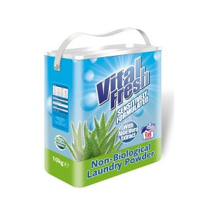 Vital Fresh Non-Biological Laundry Powder Aloe Vera (10Kg)