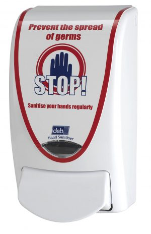 Deb 'Stop' Hand Sanitiser Dispenser