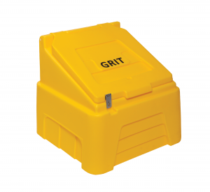 Heavy Duty Grit Bin 200 litre Yellow