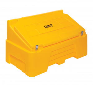 Heavy Duty Grit Bin 400 litre Yellow