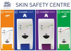 Deb 3-Step Skin Protection Centre – Large 4 Plus 4