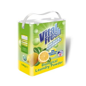 Vital Fresh Lemon Biological Laundry Powder (10Kg)