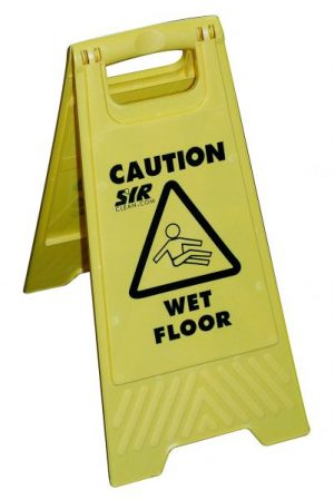 SYR Wet Floor Sign