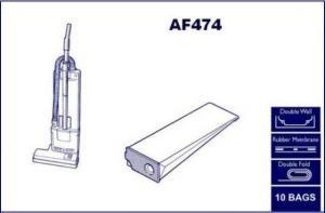 AF474 Sebo-Ensign Vacuum Bags
