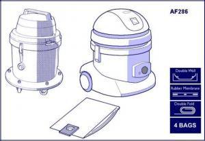 AF 286 MV12 Taski Bora Vacuum Bags