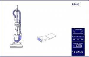 AF 480 Lindhaus Vacuum Bags
