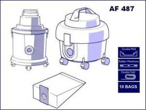 AF 487 Victor V9 Vacuum Bags