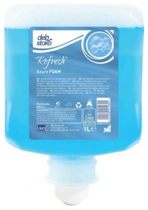 Deb Azure FOAM Wash 6 x 1 ltr Cartridge