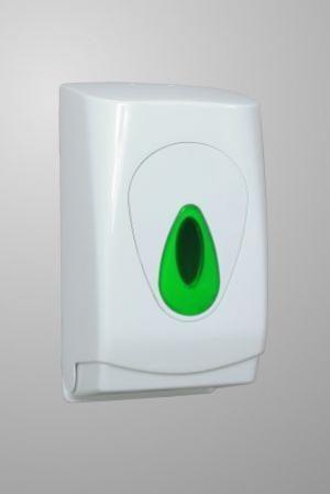 Modular Bulk Pack Toilet Tissue Dispenser White Plastic