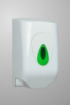 Modular Mini C-Feed Paper Hand Towel Dispenser White Plastic