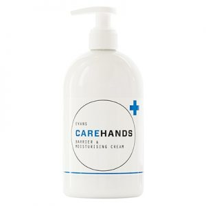 Evans Vanodine Carehands Barrier & Moisturising Cream 6 x 500 ml