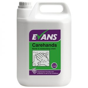 Evans Vanodine Carehands Barrier & Moisturising Cream 5 ltr