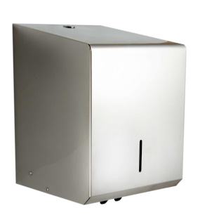 Synergise C-Feed Paper Towel Dispenser Polished Stainless Steel