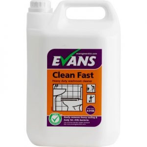 Evans Vanodine Clean Fast Heavy Duty Acidic Bactericidal Cleaner