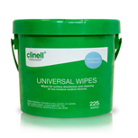 Clinell Universal Sanitising Wipes – 225 Wipe Bucket