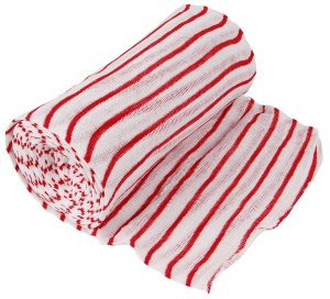Stockinette Roll 1000g Red Striped | Blue Striped | Green Striped | Yellow Striped | Bleached
