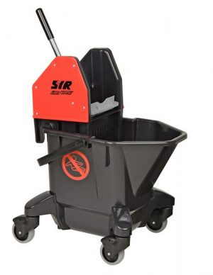 SYR TC20 Ebony Mopping Combo Bucket & Wringer Red | Blue
