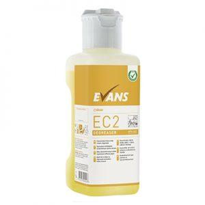 Evans Vanodine EC2 Super Concentrate Degreaser 4 x 1 ltr