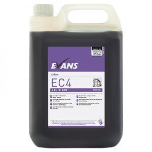 Evans Vanodine EC4 Super Concentrate Sanitiser 5 ltr