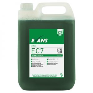 Evans Vanodine EC7 Super Concentrate Heavy-Duty Hard Surface Cleaner 5 ltr