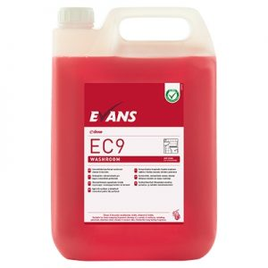 Evans Vanodine EC9 Super Concentrate Washroom Cleaner & Descaler 5 ltr