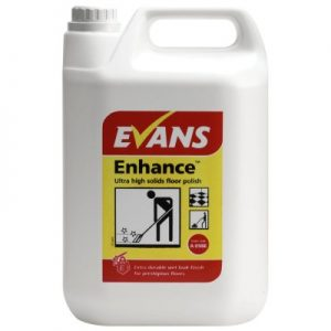 Evans Vanodine Enhance Ultra High Solids Floor Polish 5 ltr