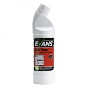 Evans Vanodine Epic Power Sulphamic Acid Toilet Cleaner 6 x 1 ltr