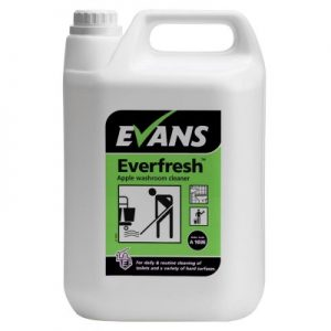 Evans Vanodine Everfresh Apple Neutral Toilet & Washroom Cleaner 5 ltr