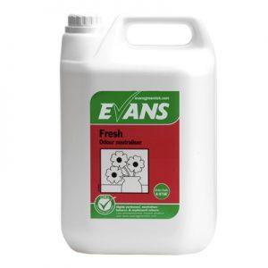 Evans Vanodine Fresh Wild Berry Liquid Freshener & Odour Neutraliser 5 ltr