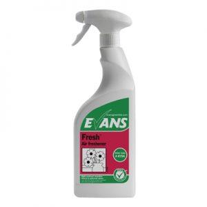 Evans Vanodine Fresh Wild Berry Liquid Freshener & Odour Neutraliser 6 x 750 ml