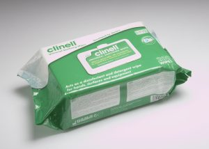 Clinell Universal Sanitising Wipes – 200 Wipes Soft Pack