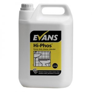 Evans Vanodine Hi-Phos High Active Phosphoric Toilet Cleaner