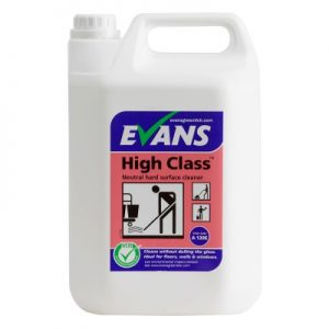 Evans Vanodine High Class Mop or Spray Clean General Purpose 5 ltr