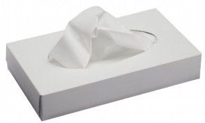 Professional Facial Tissue 2 ply White 36 x 100