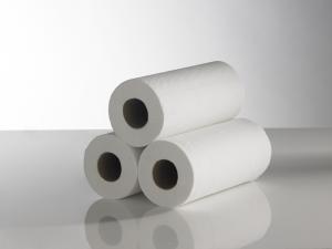 10″ Hygiene Rolls 2 ply White