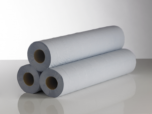 20″ Hygiene Couch Rolls 2 ply Blue