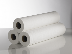 20″ Hygiene Couch Rolls 2 ply White