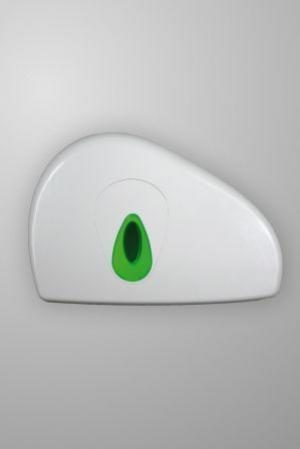 Modular Mini Jumbo   Stub Toilet Tissue Dispenser White Plastic