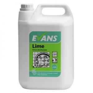 Evans Vanodine Lime Citrus Disinfectant