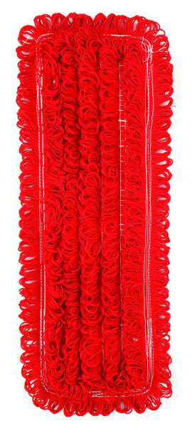 Microfibre Long Pile Mop Head Red | Blue