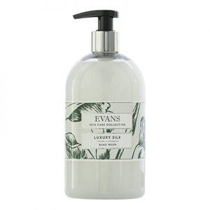 Evans Vanodine Luxury Silk Hand Hair & Body Wash 6 x 500 ml