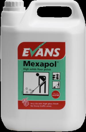 Evans Vanodine Mexapol High Solids Floor Polish 5 ltr