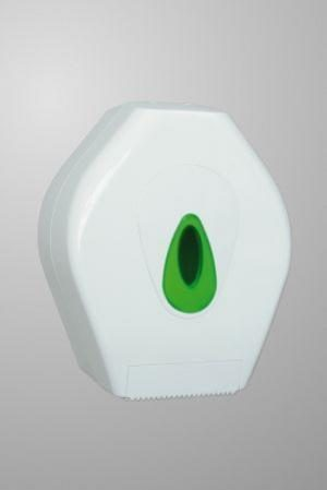 Modular Mini Jumbo Toilet Tissue Dispenser White Plastic